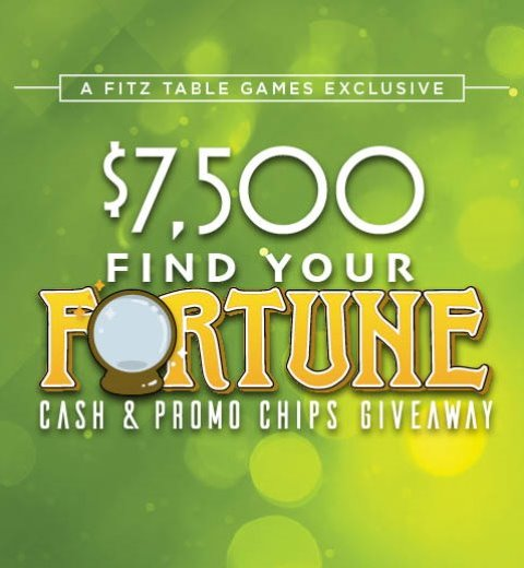FIND YOUR FORTUNE CASH & PROMO CHIPS GIVEAWAY