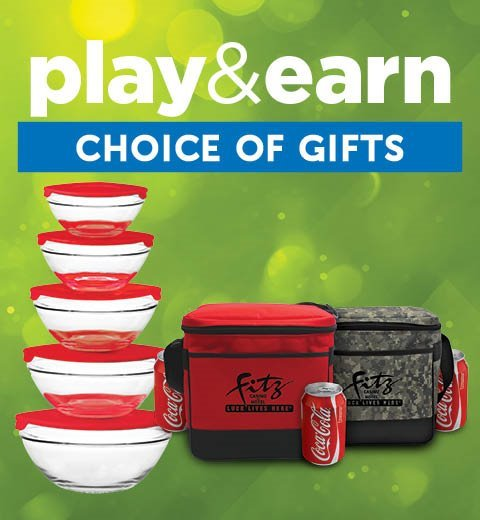 PLAY & EARN CHOICE OF GIFT-TUESDAYS IN MARCH