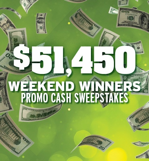 $51,450 WEEKEND WINNERS PROMO CASH SWEEPSTAKES