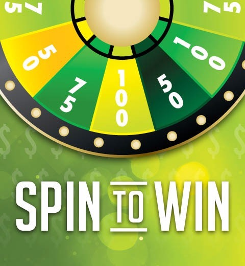 SPIN TO WIN-EVERY SPIN WINS
