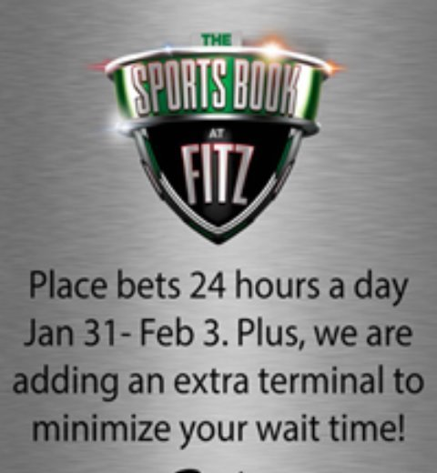 SPORTS BOOK AT FITZ? YOU BET!
